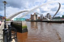 Millennium Bridge, Newcastle, England
