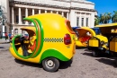 Kleine Touristische Taxis in Havanna