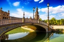 Die Leon Bridge in Sevilla, Spanien