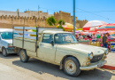 Alter Pick-up in Sfax, Tunesien