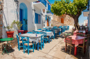 Traditionelle griechische Taverne, Alonissos