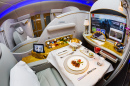 First Class on Bord Airbus A380 der Emirates