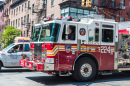 Feuerwehrauto in New York City