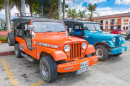Willys in Salento, Kolumbien