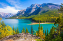 See Two Jack, Banff-Nationalpark, Kanada
