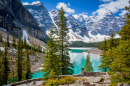 Moraine Lake, Banff-Nationalpark