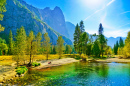 Yosemite-Nationalpark im Herbst